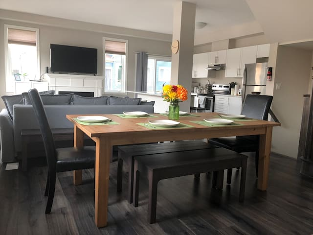 Modern Fully Furnished Town house near Blue Mtn!