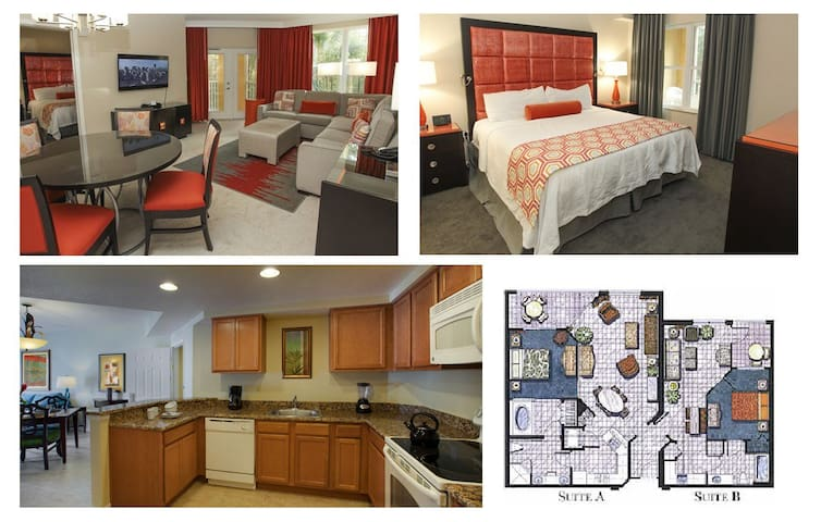 Disney resort for 8 people with full kitchen - Serviced apartments ...