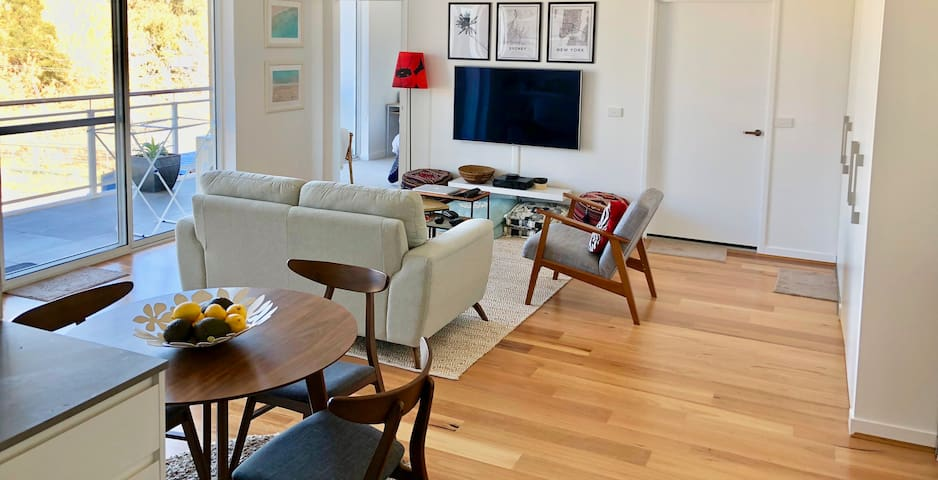 Modern Phillip apartment with creature comforts