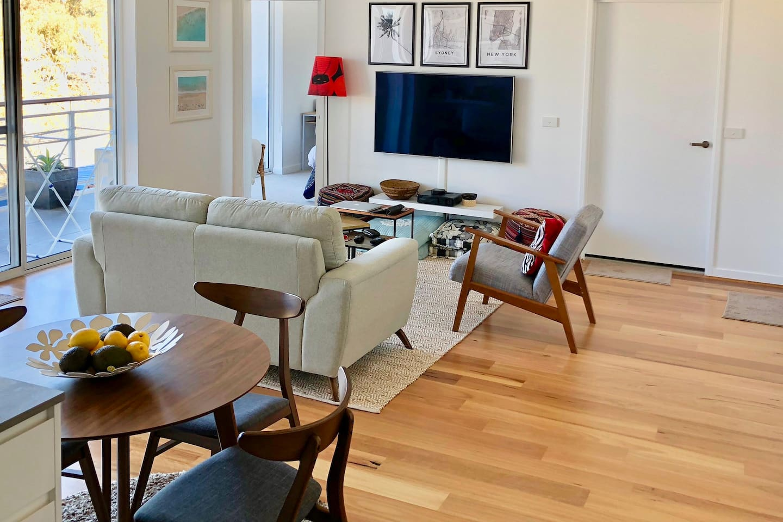 Clean, spacious and modern living apartment