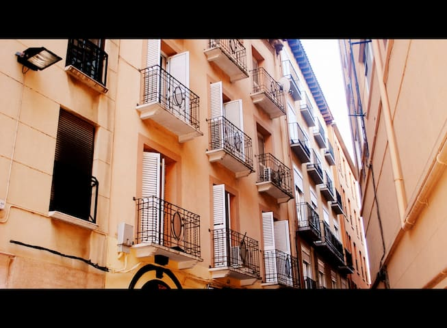 City center apartment close to Plaza del Pilar - Saragoça - Apartamento