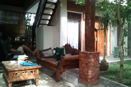 Private Bedroom near Rice Paddy - Ubud