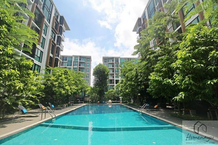Near MRT Station 8minsWalk,FreeWIFI,Gym,Pool,日本語OK