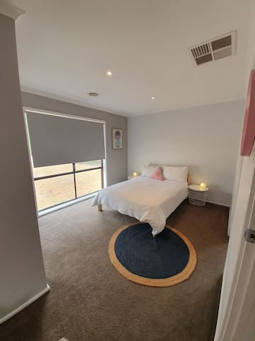 Bedroom 1 - opens onto shared bathroom
