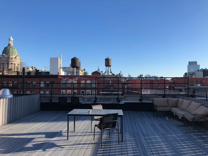 Amazing NYC Rooftop One Bedroom