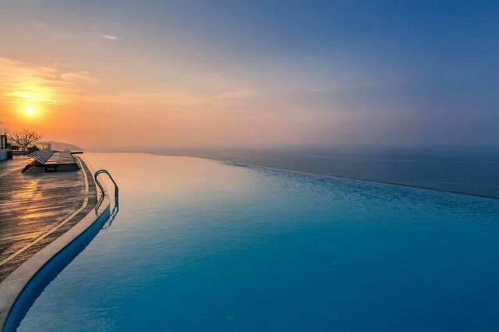 阳江海陵岛网红北洛秘境酒店 海景双床房或者大床房 含天际泳池和自助早餐