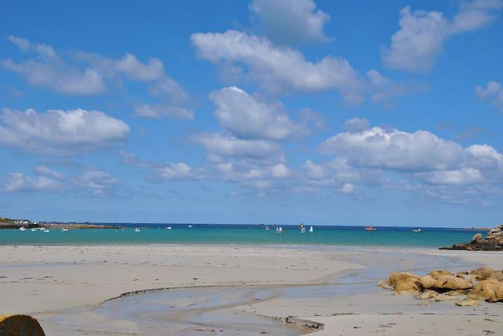 Maison à 2 pas des plages de sable fin - Landunvez