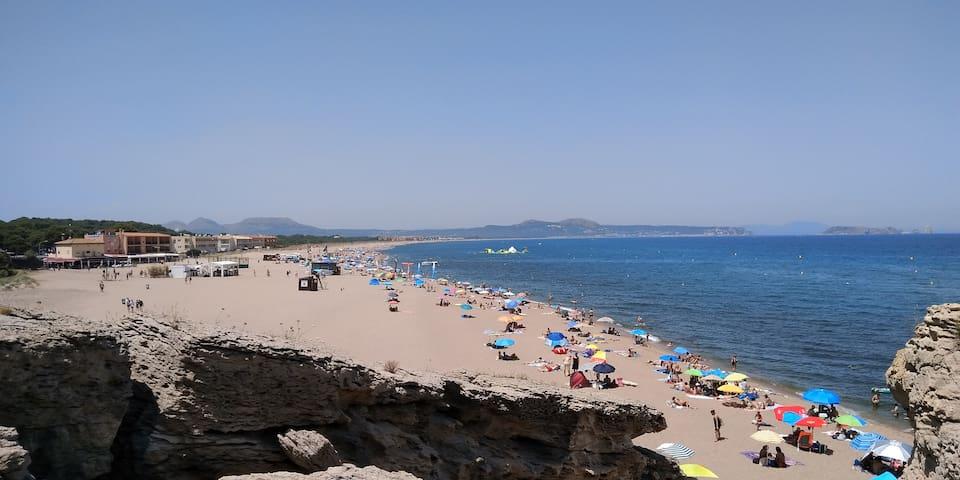 3 pièces 100 mètres Playa de Pals / Costa Brava