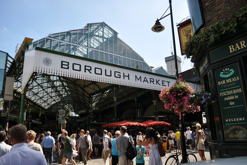 Borough market - a short stroll away