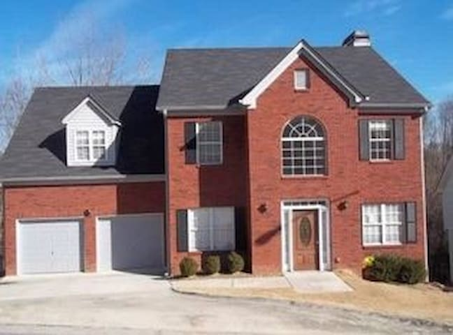 Westside Atlanta room, great convenient community - Mableton - Huis