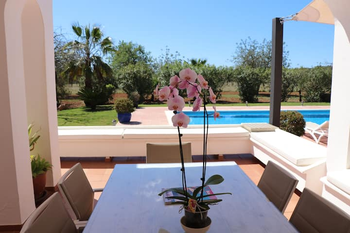 Sa Vinyeta, saltwaterpool-wifi-garden-bbq-parking