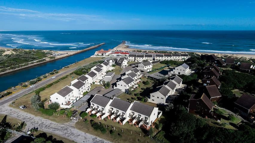 Relax in Port Alfred and hear the waves at night!