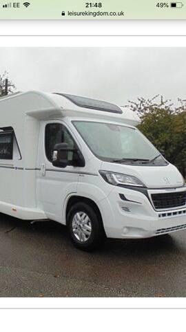 6 berth Luxury touring motor home