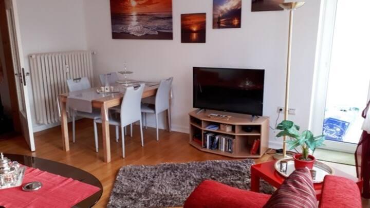 3-Zimmer-Apartment mit Parkplatz in City-Nähe !!!