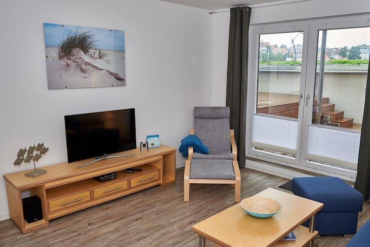 """""""Pier 6"""" wohnen am Strand & Stadt & Hafen"""