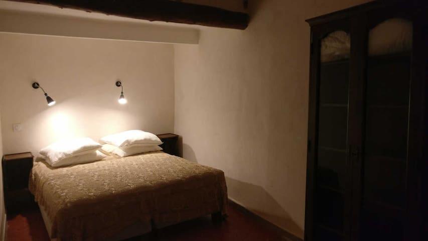 Chambre 2. Deux lits 80x200