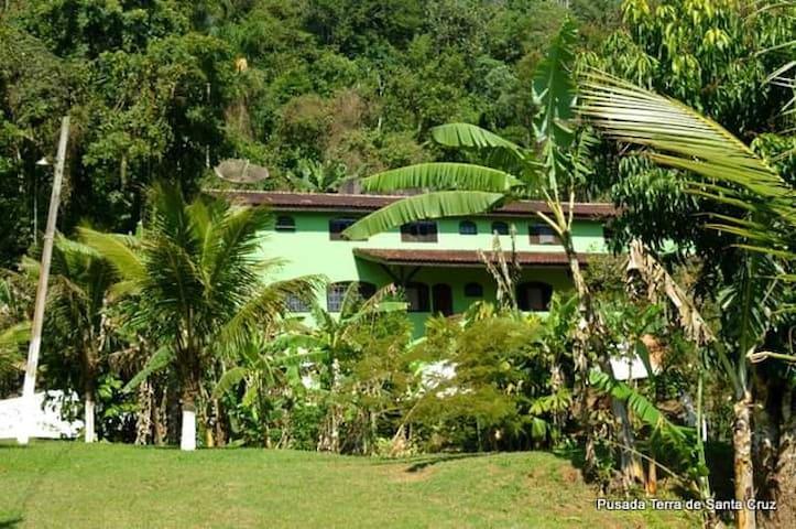 Casa Na Serra do Biguá Tranquilidade e Natureza;)