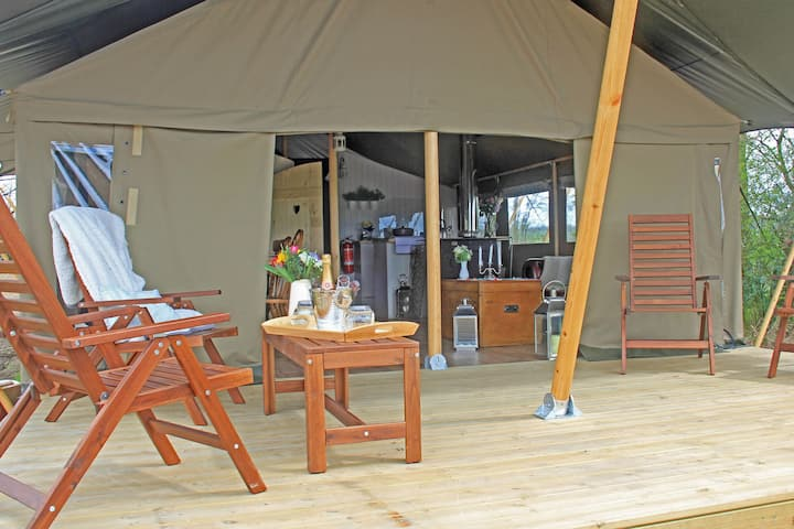 Lower Keats Glamping Safari Lodge 2 Sleeps 6