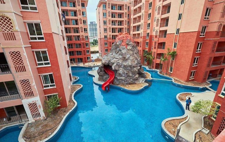 Seven Seas Pattaya - Laem Chabang - Apartemen berlayanan