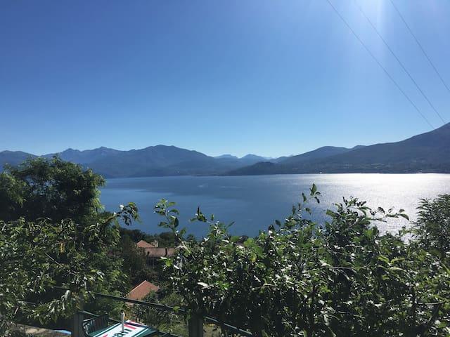 Appartamento nel verde vista lago - Ghiffa - Talo