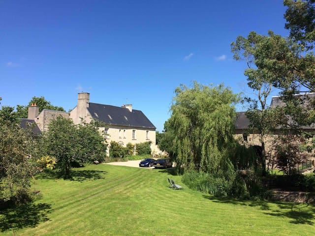 Stay in an Ancient Norman Manor - The Doyen's Room