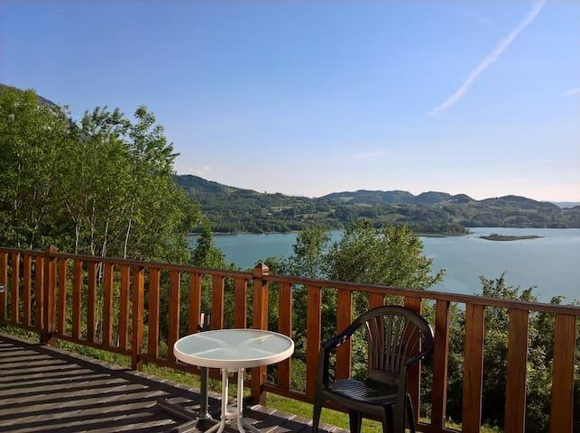Chambre d'hôtes vue lac