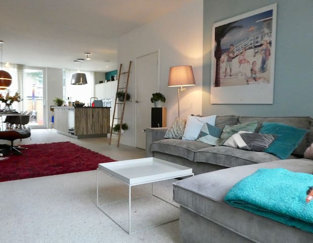 Lovely Beauty with Garden, close to the Dutch beach!