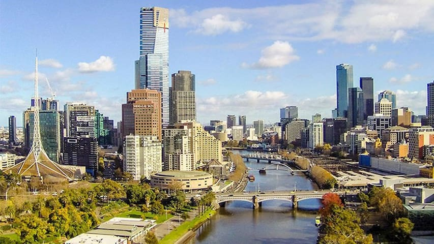 The private apartment at Collins Melbourne CBD