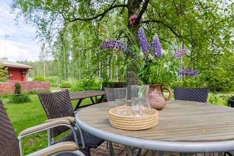 NUUKSIO, Poppelstrand, disinfected guest apartment