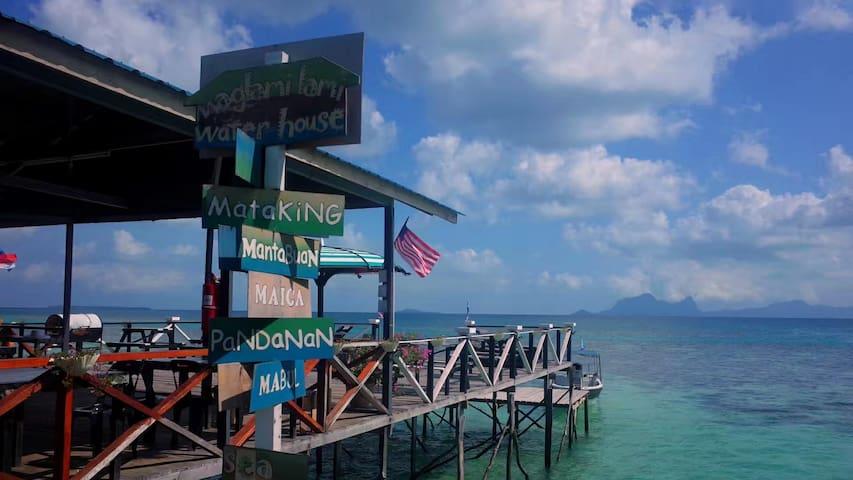 B蓝海之家 Bluesea Resort 水屋 独立卫生间 3~5人房型