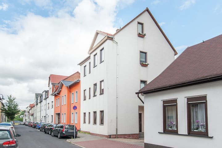 Apartment in ilmenau with Garden, Terrace, BBQ, Deckchairs