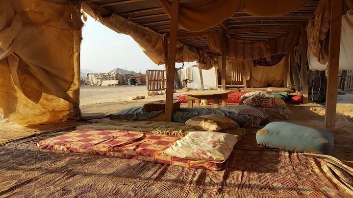 Ein akev beduine camp