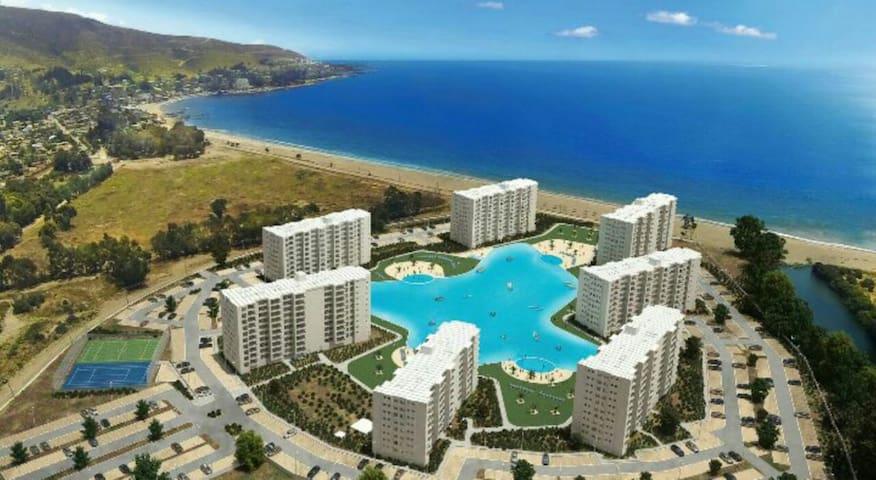 Papudo, Departamento orilla de playa - Papudo - Apartmen