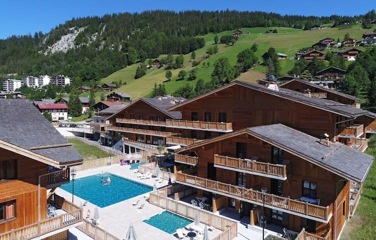 Appartement Cosy dans les Montagnes | Près des Remontées Mécaniques + Local à Ski GRATUIT