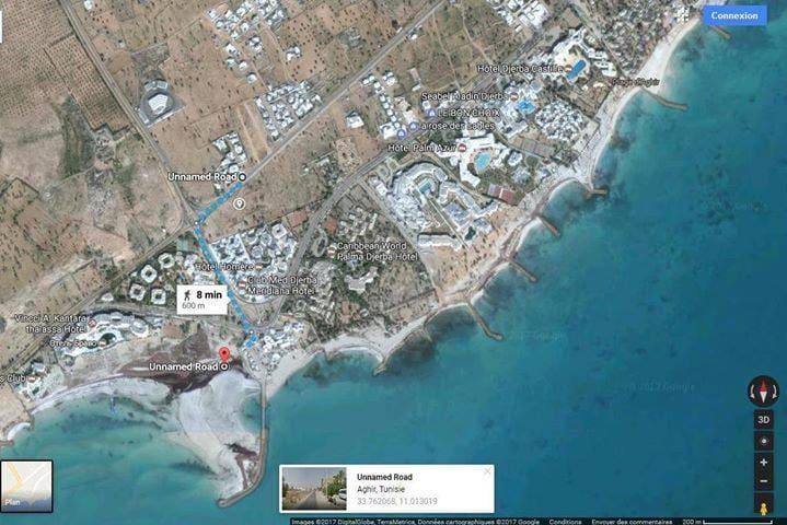 Location studio à Aghir Djerba Tunisie