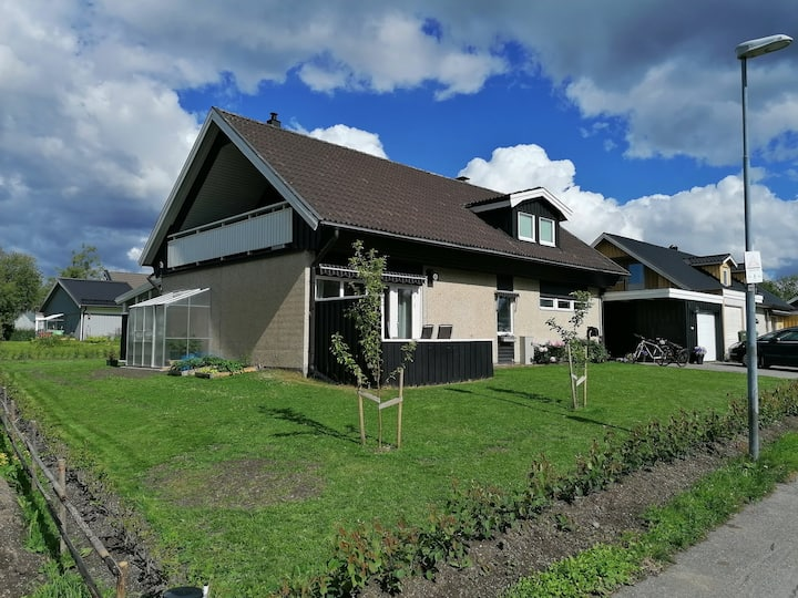 Big house close with great location in Östersund
