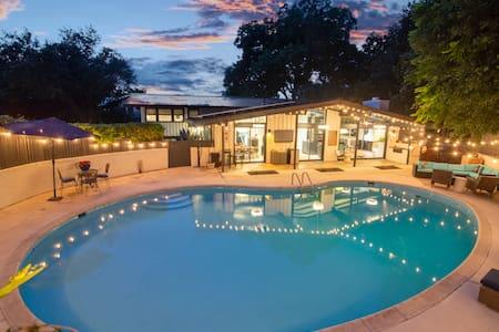 Mid Mod Luxury Home in the Heart of San Antonio