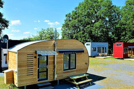 Tiny Ferienpark am Alfsee Tiny House Red Rose
