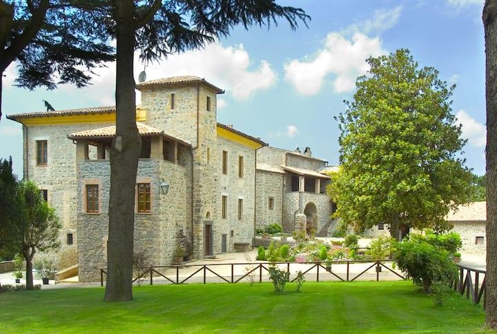 casale tra Orvieto e Bolsena