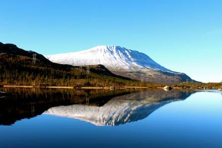 Stor leilighet sentralt i Rjukan.