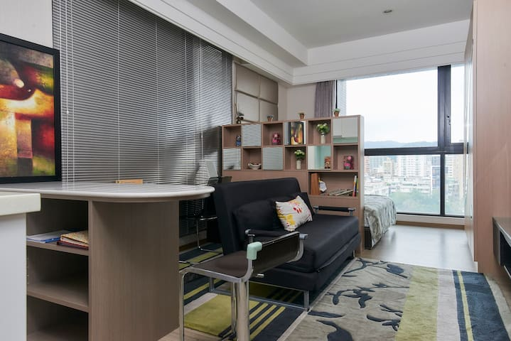 Luxury apart. -Songshan MRT XinYi Dist. Taipei 101 - Songshan District - House