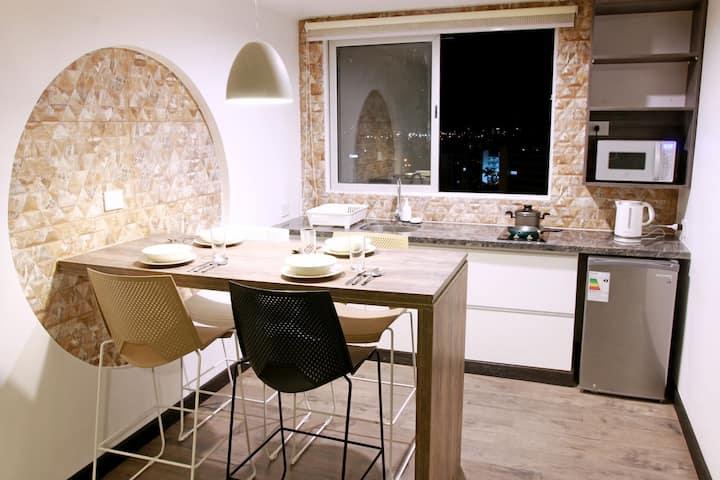 Comodo y practico apartamento 1203