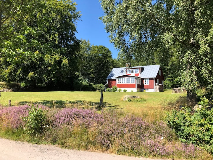Eget hus på Hallandsåsen (Hjärnarp/Båstad)