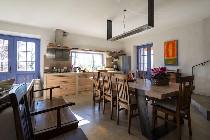 Airbnb Luxury Villa, Istria Croazia, 25m pool - Groznjan - Vila
