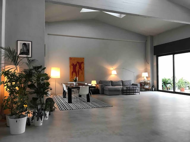 LOFT NAVIGLI  WITH PRIVATE GARDE Camera  Deluxe