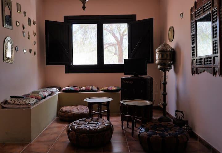 Habitaciones dobles matrimonial con terraza