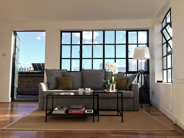 Nice Rooftop apartment in Shoreditch - Londra - Appartamento