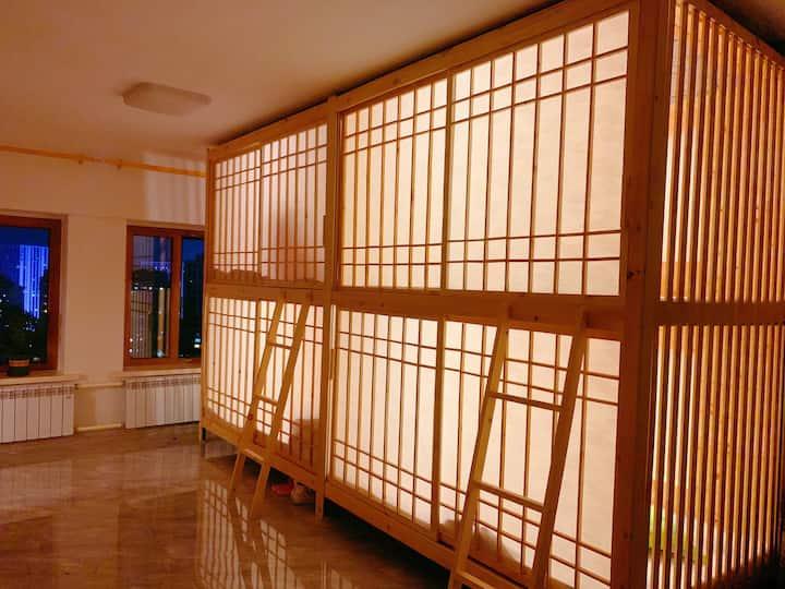 哈西站附近 地铁三号线 特色日式女生公寓