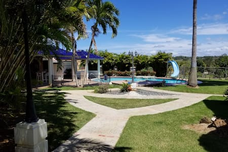 Large pool home completely gated 4 acres
