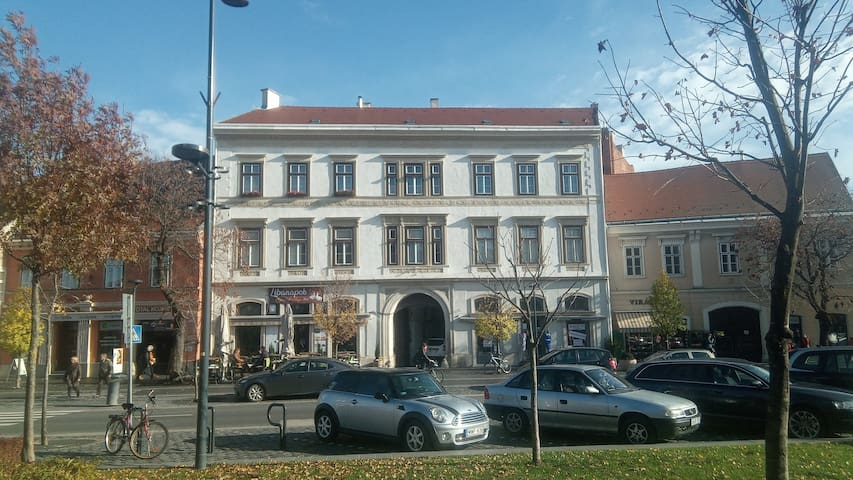 Apartment in the center of Sopron